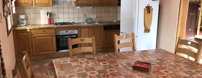 [Chalet Solflo : Le Chamois]chamois poin cuisine