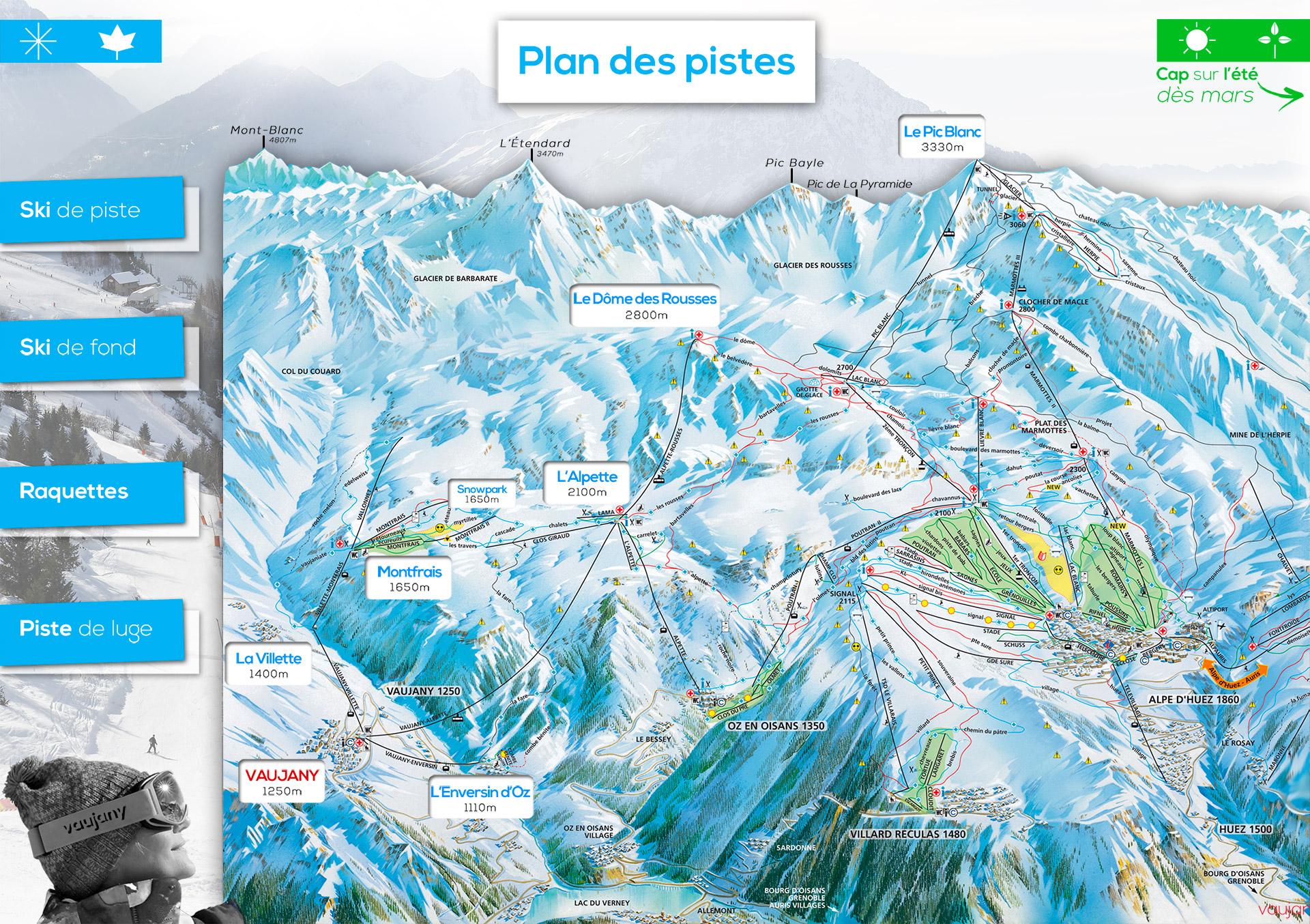 Vaujany et ses domaines vaujany station village s jour ski et vacances montagne is re - Office de tourisme vaujany ...